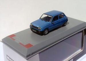 RENAULT-5-ALPINE-1975-AZUL-BLUE-MET-1-43-WHITEBOX