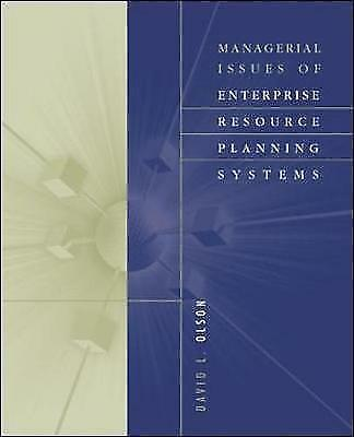 Managerial Issues of Enterprise Resource Planning Systems, Olson, David L., Used