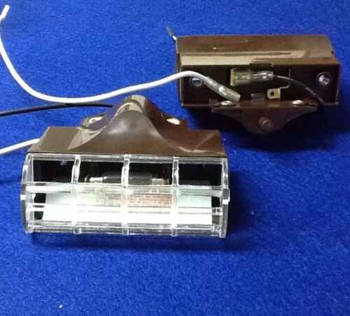 2 pc New 12 Volt RV Camper Interior CONVENIENCE COURTESY CLOSET LIGHT 2-pc Lot