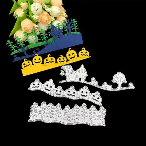 Stanzschablone Kürbis Haus Baum Weihnachten Hochzeit Geburtstag Karte Album Deko