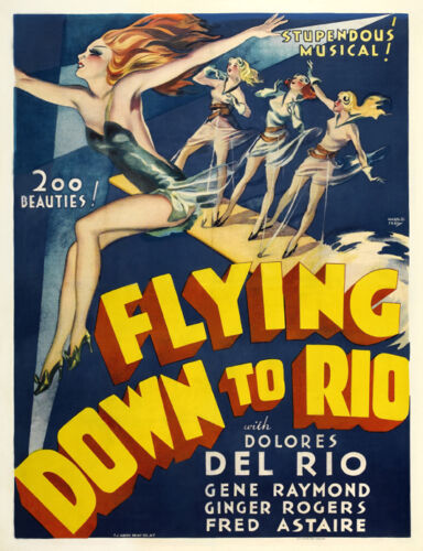Flying down to Rio Ginger Rogers #5 movie poster