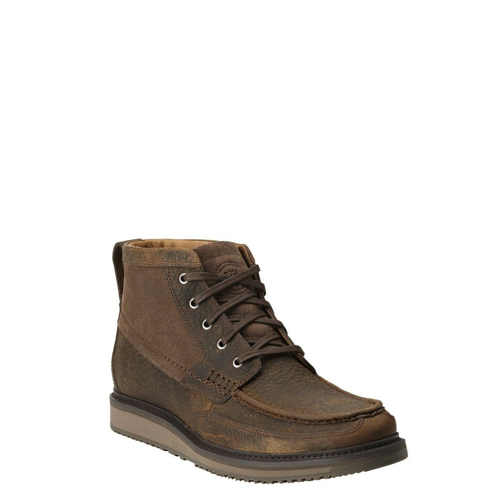 Ariat Men's Lookout Earth Stone Suede Brown Boot 10014153