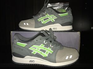 buy popular 777c0 dd144 Details about Asics Gel Lyte III 3 x Ronnie Fieg Super Green W/ Matching  Tee S v 5 Kith Red