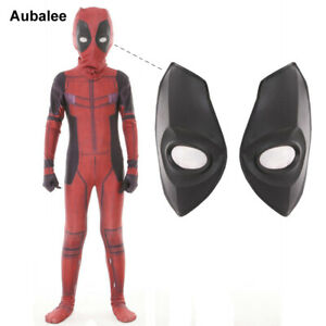 Superhero Spiderman Deadpool Costume Cosplay Kids Boys Party Fancy Dress Outfits