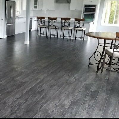 Grey Crafted Maple Laminate Flooring