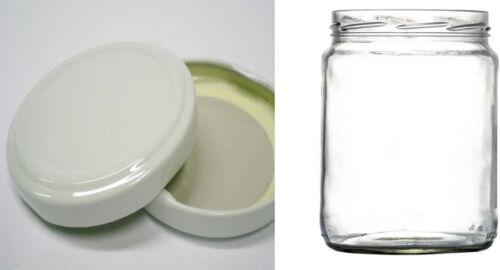 40 Vasetti  barattolino barattolo da 212 ml con capsule per alimenti