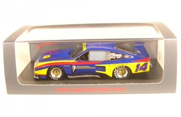 Chevrolet Monza no. 14 CHAMPION IMSA 1976  Al Holbert