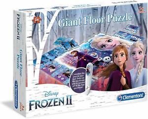 Disney Frozen Gigante Piso Rompecabezas Y Electrónicos Pluma Elsa Anna Juego De Juguete Juegp Ebay