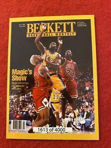 Beckett Basketball Monthly Card Magic's Show/Lonzo Ball 1613/4000 Jordan On Card
