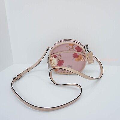 NWT COACH 35453 F35453 Americana Bramble Rose Tablet Crossbody Handbag Purse 175