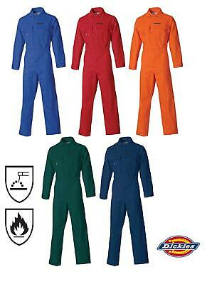 Dickies Proban Coverall Overall Flame Retardant Boiler Suit TWIN PACK