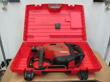 Hilti Te 80 Atcavr Rotary Chipping Demolition Hammer Drill W Case 80 76 Te 80