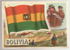 Bolivia AampBC Flags of The World Gum Card 10 - <span itemprop=availableAtOrFrom>Dukinfield, United Kingdom</span> - Bolivia AampBC Flags of The World Gum Card 10 - Dukinfield, United Kingdom