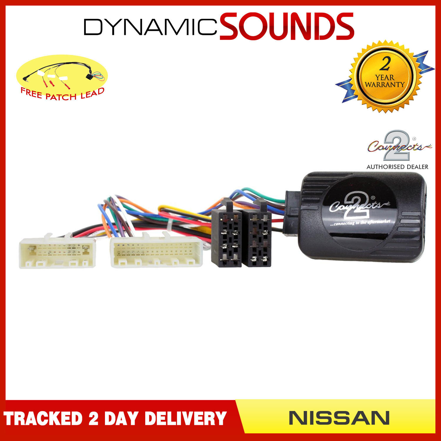 CTSNS013 Car Stereo Radio Steering Wheel Interface Kit for Nissan NV400 2014 On