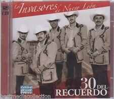 SEALED - Invasores De Nuevo Leon CD NEW 30 Del Recuerdo 2 CD's BRAND NEW