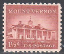 SC#1032 - 1 1/2c Mount Vernon Single MNH