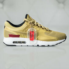 Nike Air Max Zero QS Gold Red 789695 700 Running Shoes Men's