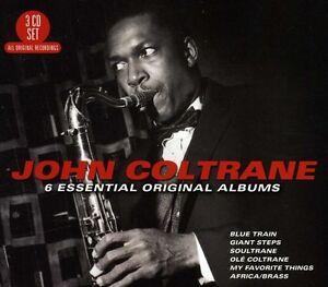 6-Essential-Original-Albums-3-DISC-SET-John-Coltrane-2012-CD-NUOVO