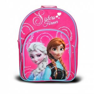 Official-Disney-Frozen-Forever-Sisters-Glitter-Rucksack-Backpack-Brand-New-Gift