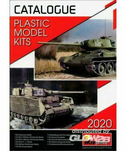 Catalogue Miniart 2020 Plastic Model Kits Collection 84 Pages New Catalogue