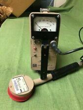 Ludlum Model 12 Count Ratesurvey Meter With 44 9 Beta Gamma Pancake Detector