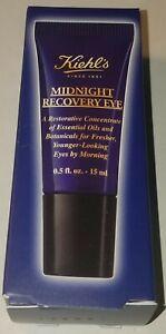 Kiehl-039-s-Midnight-Recovery-Eye-Restorative-Dark-Circles-Treatment-NEW-BOX-0-5-Oz