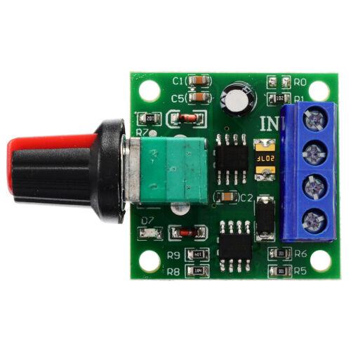 Spannung DC 1,8V 3V 5V 6V 12V PWM Drehzahlregler Potentiometer Knob Schalter hot