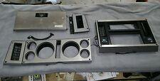 1982-85 chevy GMC s10 S15  Dash Instrument Cluster Radio Trim Panel Set w/AC