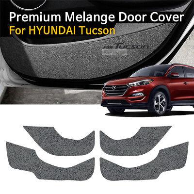Convoy Premium Felt Door Anti Scratch Cover Compatible with Hyundai Tucson 2016 2017 2018