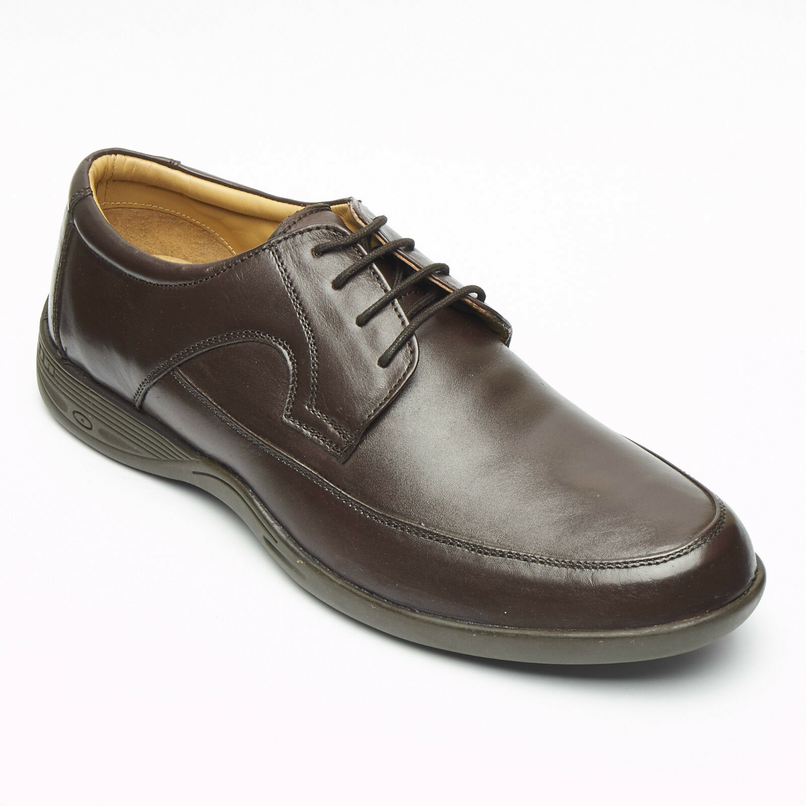 Men's Lucini Lace Up Leather Smart Comfort Formal Shoe