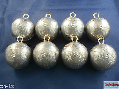 Weights, Cannon Ball Sea Lead Weight. Fast Down 10 or 8oz, Wreck Fishing
