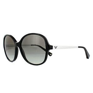 1479d4efe4bd Image is loading Emporio-Armani-Sunglasses-4024-501711-Black-Grey-Gradient