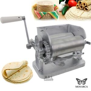 Manual Flower Corn Aluminum Tortilla Maker Roller Press Made In Mexico New Ebay