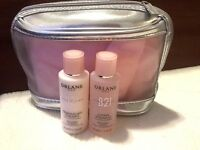 Orlane Oligo Vitamin Vitalizing Cleanser & Lotion Gift Set W/cosmetic Bag