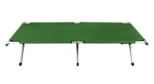 Metal Cuna Cama de Camping 210 cm Cama Plegable Camping Cama Tumbona XXL 1637