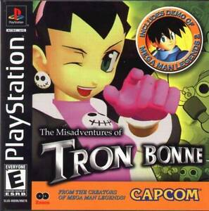 Misadventures-Of-Tron-Bonne-PS1-Great-Condition-Fast-Shipping