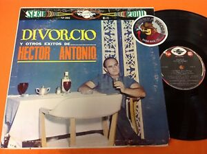 Hector-Antonio-Di-Vorcio-Y-Otros-Exitos-Latin-Vinyl-LP-USED-Piranha-Records