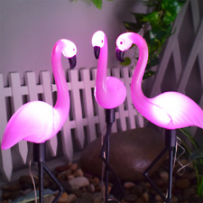 Pink Inc GM1 33-Inch Solar Powered Flamingo
