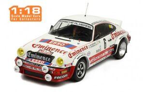 Ixo Ixo18rmc008 - Porsche 911 Sc Rallye Wm 92ème Monte Carlo 1982 Waldegard 1/18