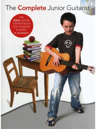 1 of 1 - The Complete Junior Guitarist by Joe Bennett (Book & CD)