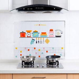 Kitchen Wallpaper Oil Proof Ceramic Tile Self Adhesive Waterproof Wall Sticker Ebay