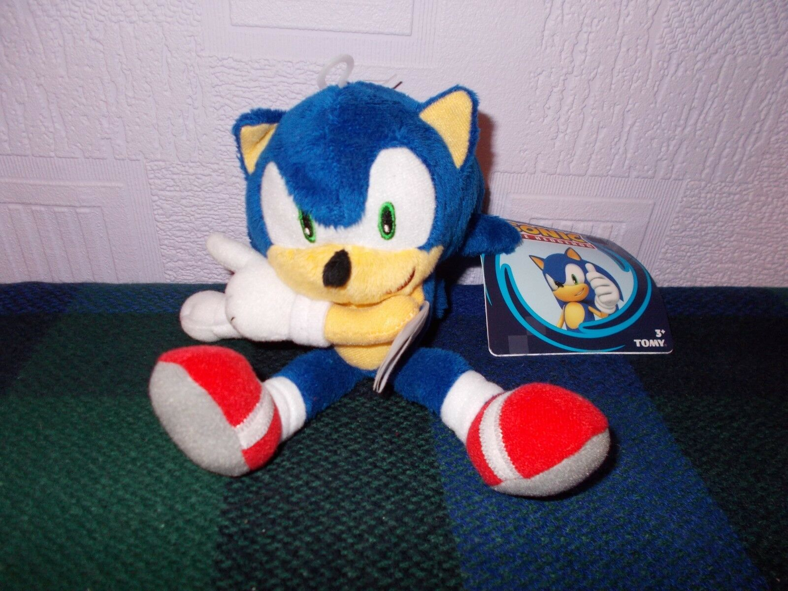 """OFFICIAL SONIC THE HEDGEHOG 8"""" 8"""" 8"""" MODERN SONIC SOFT TOY PLUSH """"NEW RELEASE c39531"""