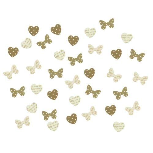 Wedding Table Paper or Wooden Confetti Sprinkles Scatters BUY 3 GET 1 FREE