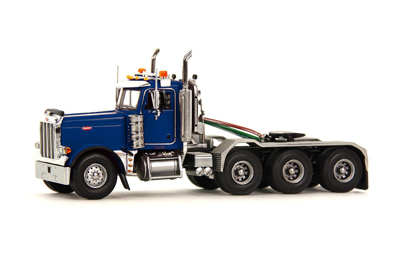 PETERBILT 379  camion tracteur -  Bleu  - 1 50 - WSI  34-1004  nouvelle exclusivité haut de gamme
