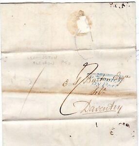 1827-WARWICK-PY-POST-amp-LEAMINGTON-FLEURON-Wm-PATTERSON-TO-E-S-BURTON-DAVENTRY