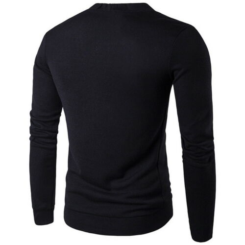 Men/'s Long Sleeve Leisure Pullover Sweater Sweatshirt V Neck Knitwear Modern