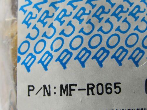 10 Stück rückstellend Polyswitch 10x MF-R065 Bourns 0,65A Resettable Fuse