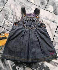 Ted-Baker-Baby-Girl-denim-dress-size-6-9-months