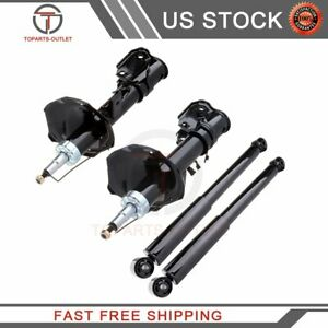 Front-Rear-Shocks-Struts-Set-4-Fits-Nissan-Pathfinder-96-98-amp-Infiniti-QX4-97-98