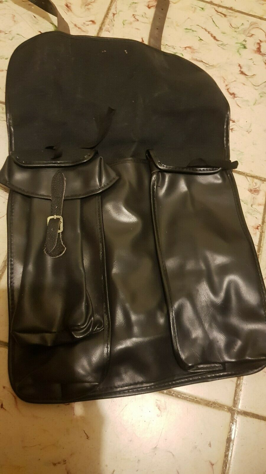 Vintage Bicycle  Moped Scooter Rear Saddle Bags Tool Kit Pouch  fashion